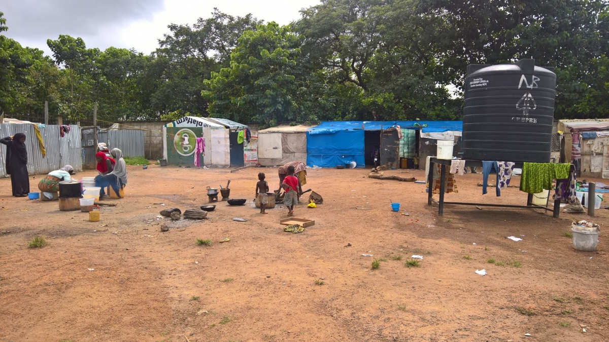PSI delegation visits an internally displaced persons camp in Nigeria
