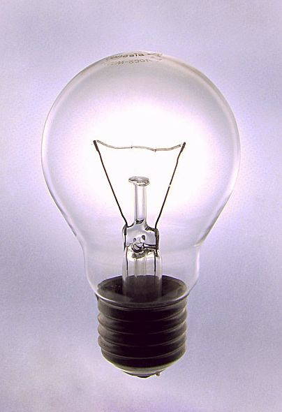 light bulb photo by Olga Reznik