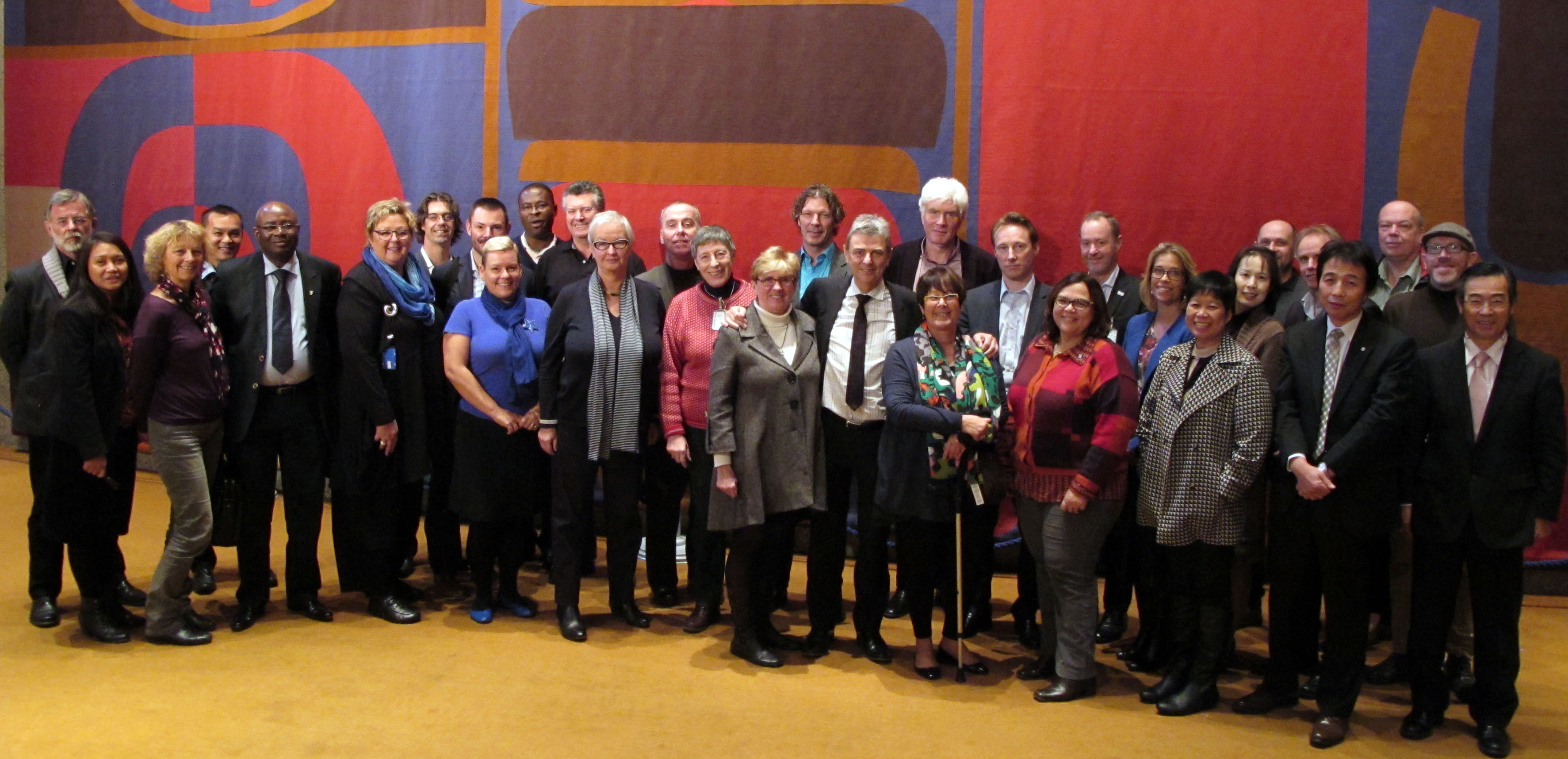 PSI Steering Committee and staff, November 2013