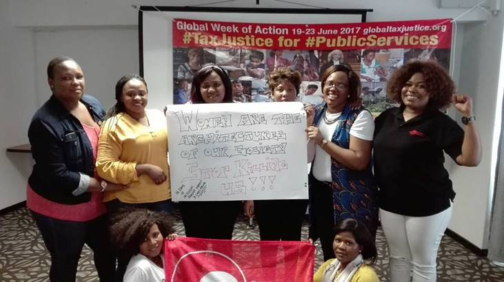 South African Young Women Workers