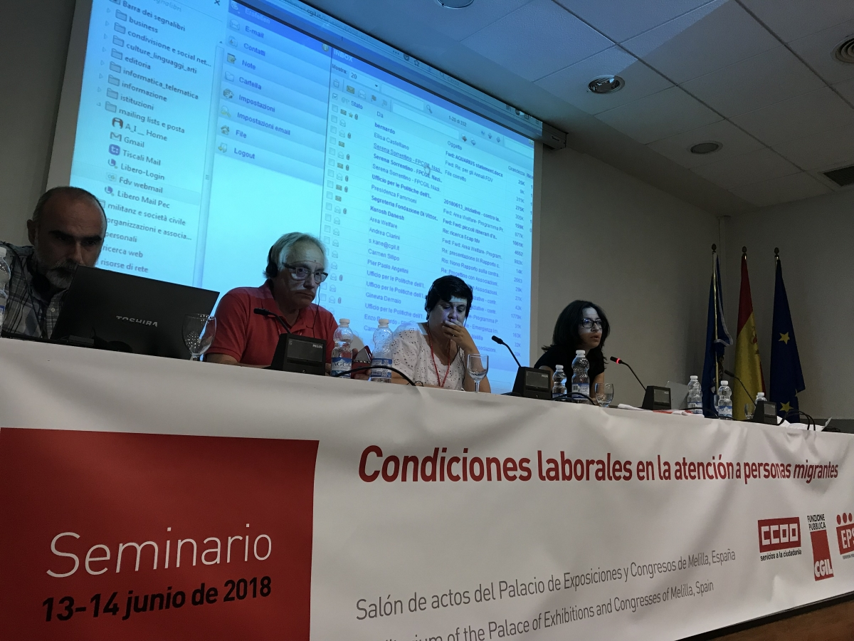 The General Secretaries of CC.OO and FP-CGIL close the two-day workshop with a strong call for the trade union movement to work alongside progressive political movements to fight the worrying spread of xenophobic, fascist and populist forces that growing in Europe.