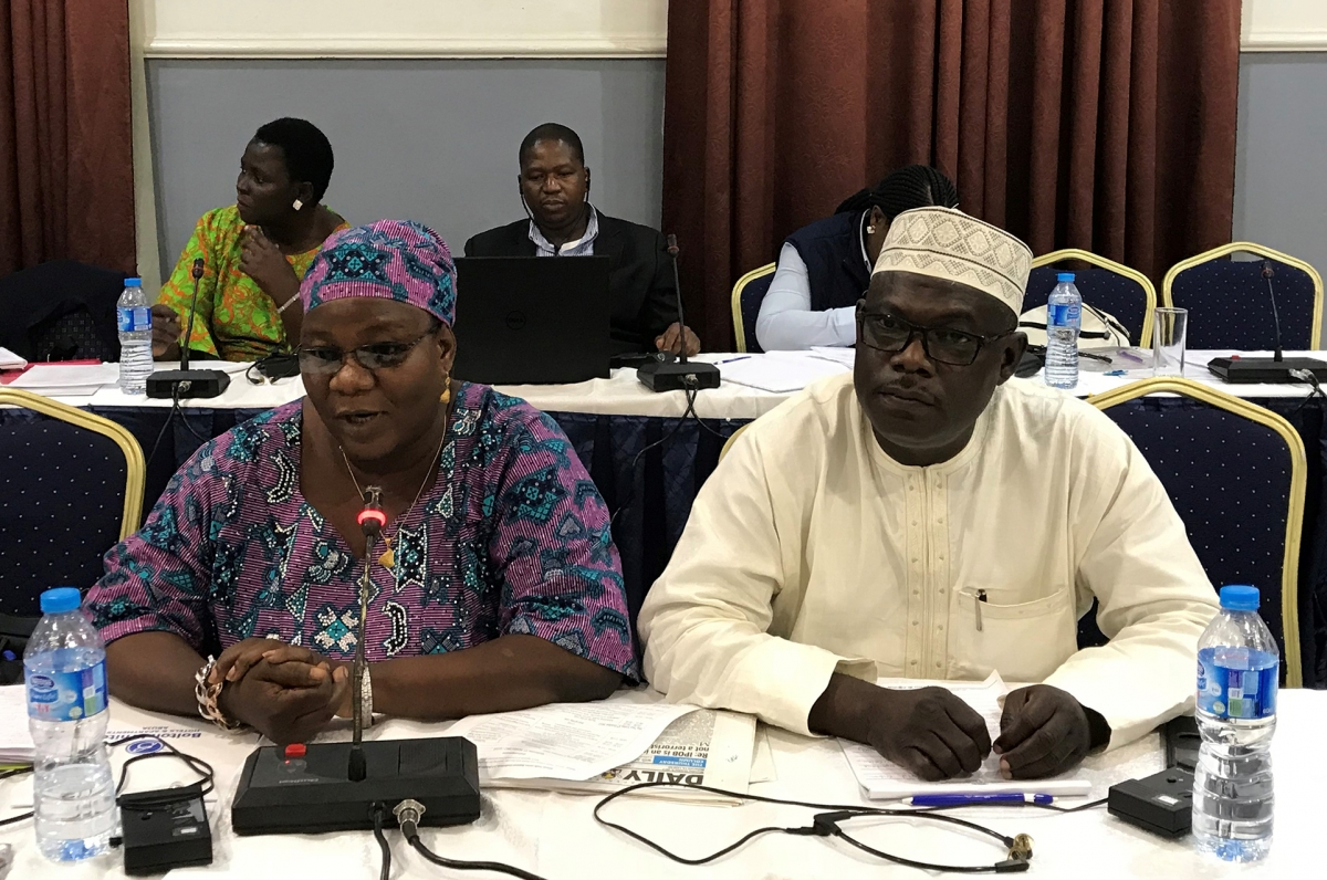 Juliana Bitrus and Abdul Aziz Uthman, leaders of the National Association of Nigerian Nurses and Midwives in the Yobe and Borno states of Northeast Nigeria relate the situation of health workers displaced by the Boko Haram extremist group.