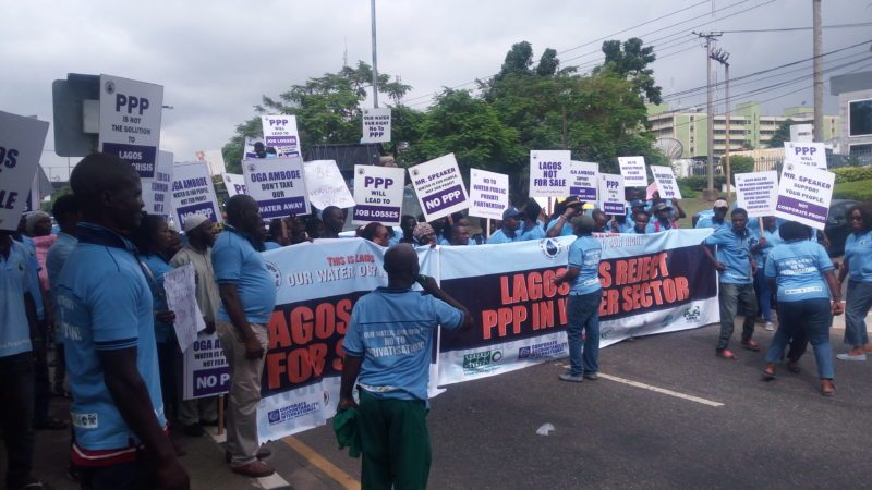 Lagos water privatisation