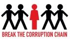 Break the corruption chain logo