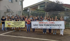 Health workers protest in Brazil