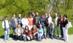 Participants at the young workers seminar in Blansko-Češkovice, April 2009, Czech Republic