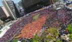 General strike rally, Seoul