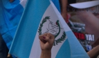 Peaceful march against state corruption in Guatemala