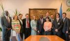 La ISP se reúne con el Secretario General de la UNCTAD