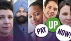 UNISON Pay Up Now campaign