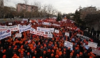 Large demonstration in Turkey