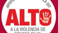 Alto a la violencia de género en el trabajo
