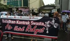 Jakarta water privatisation
