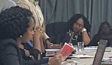 Linda Mienzer, LGBTQI representative from BPSU, Bermuda. Photo: PSI in the Caribbean