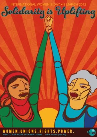 PSI Poster for International Women's Day 2012