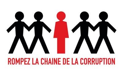 Logo Rompez la chaîne de la corruption