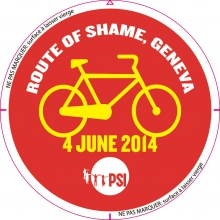 Badges: Route of Shame 2014