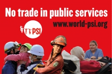 No trade in public services badge image