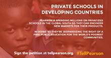 Tell Pearson - Private Schools in Developing countries