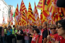 Rally in Spain