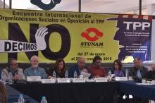 Encuentro internacional de organizaciones sociales