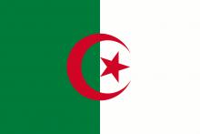 Drapeau d'Algérie