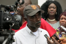 George Poe Williams, General secretary of NAHWAL, Liberia