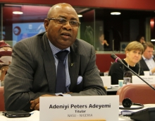 Adeyemi Peters, vice-president of PSI