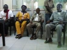 libération provisoire des quatre leaders