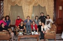 Participants to the seminar on gender quality in Baku in Azerbaijan