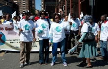 "Mobilisation for the launch of the South Africa ""Migrant Desk"" in Johannesburg, November 2012"