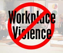 Workplace violence image