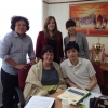 PSI Asia Pacific Youth Network members with Rosa Pavanelli PSI General Secretary