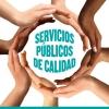 Póster Servicios Públicos de Calidad