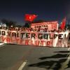 protesta en contra la destitución de Dilma