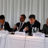 Top table at the Common Space Panel session on Labour Migration