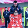 Hair-cutting ceremony in South Korea