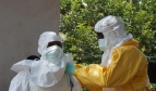 Ebola health workers - by European Commission DG ECHO