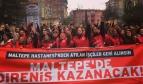 Visite de solidarité de la secrétaire générale de l'ISP auprès des travailleurs turcs licenciés