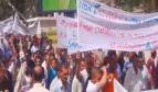 Manifestation des travailleurs du secteur public en Algérie