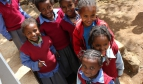 Students at Hidassie primary school - Addis Ababa, Ethiopia