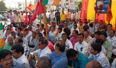 Demonstration by Power Employees & Engineers National strike on 8th January at Nashik and Pune, Maharastra