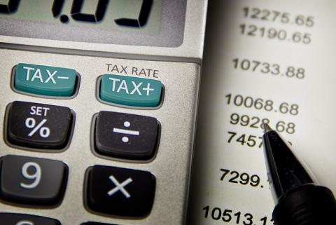 Calculator for tax