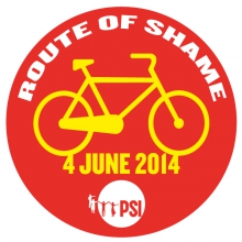 Route of Shame logo