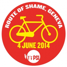 Route of Shame Geneva logo