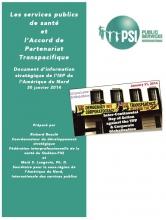 Les services publics de santé et l'Accord de Partenariat Transpacifique