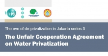 The Unfair Cooperation Agreement on Water Privatisation