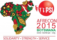 PSI AFRECON 2015 Logo
