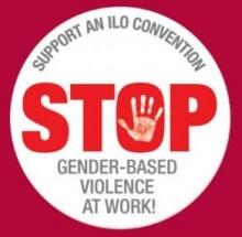Stop gender-based violence at work!