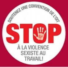 STOP à la violence sexiste au travail!